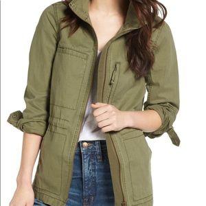 Madewell Green Fleet Jacket